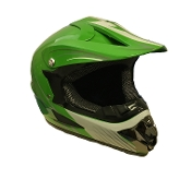 YOUTH OFF-ROAD HELMET W121-GREEN